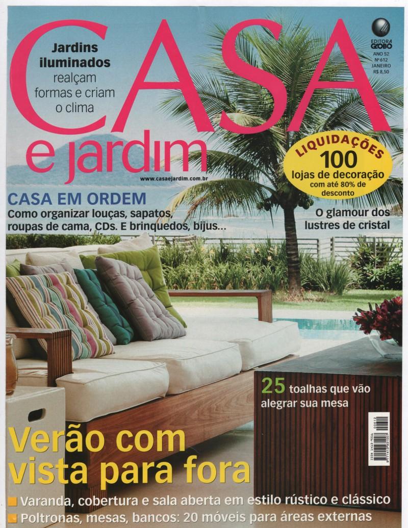 CAPA – Casa & Jardim – Juquehy